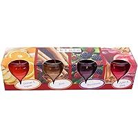 HScandle 20 Duftkerzen im Set Auswahl: Winter Spices - 5 x 4er Pack preisvergleich bei billige-tabletten.eu