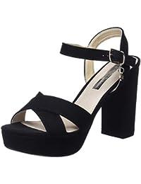 XTI 30751, Zapatos con Tacon y Correa de Tobillo Para Mujer