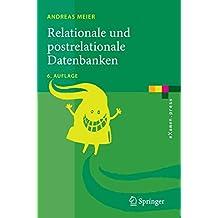 Relationale und postrelationale Datenbanken (eXamen.press)