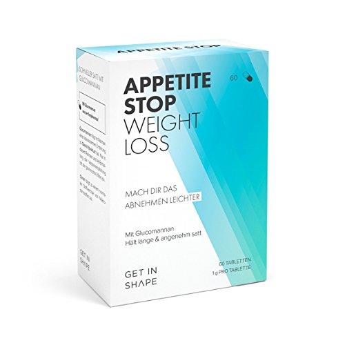 *Glucomannan (Konjak-Wurzel) – 1 Gramm pro Kapsel – Natürlich Abnehmen ohne Hunger durch Appetitzügler (60 Tabletten für drei Wochen).*