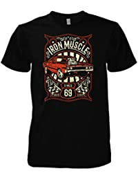 Rock Style Iron Muscle T-Shirt
