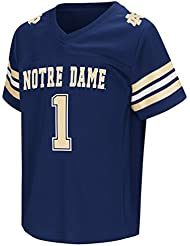 "Notre Dame Fighting Irish NCAA ""Hail Mary Pass"" Toddler Football Jersey Maillot"