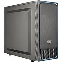 Cooler Master MasterBox E500L Blue - Cajas de ordenador de sobremesa ATX, microATX, Mini-ITX, Azul, Panel lateral sólido MCB-E500L-KN5N-S00