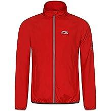 LI Ning Randy–Cazadora para hombre, otoño/invierno, hombre, color Rojo - Klassisch Rot, tamaño extra-large