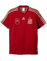 adidas Selección Española de Fútbol - Camiseta de fútbol de aficionado para hombre, color rojo, talla XL