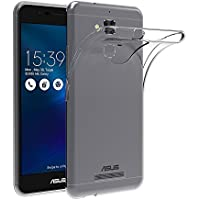 "Funda ASUS ZenFone 3 Max ZC520TL, AICEK ASUS ZenFone 3 Max Funda Transparente Gel Silicona ASUS ZenFone 3 Max Premium Carcasa para ZenFone 3 Max 5.2"""