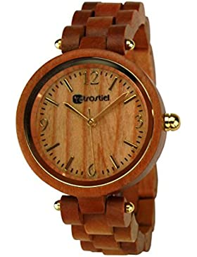[Gesponsert]Holz Armbanduhr Vene