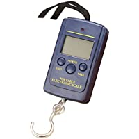 Kurphy Escala Colgante Escala de dial portátil LCD Peso Digital Escala electrónica 40 kg / 88 LB para Tackle Bag Fish Hook Escala Colgante