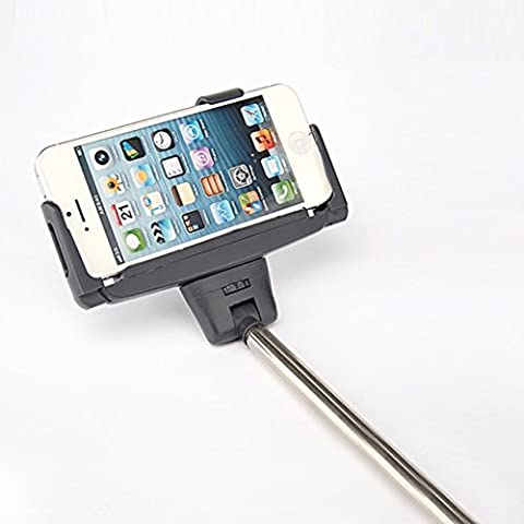 iriver IPS10tutto in uno Bluetooth Selfie Stick–Selfie Stick Espandibile con angolazione regolabile, eccellente wefie Fotocamera Stick come bene.