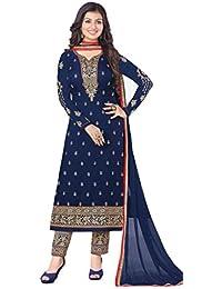 Mudit Designer Suit Women's Clothing Dress Material For Women Latest Designer Wear Salwar Suit Collection In Latest... - B07J6B2SST