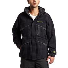 Columbia Hombres chaqueta Echochrome (hilo negro Dye, X-Large)