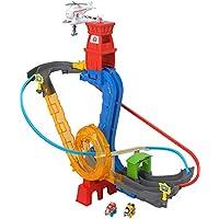 Mattel Thomas & Friends-Circuito superacrobacias, Pistas de Coches de Juguete niños +3 años, Multicolor FXT29
