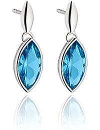 e8ceb0a3c Fiorelli Royal Blue Topaz Nano Marquis Silver Drop Earrings - E5464