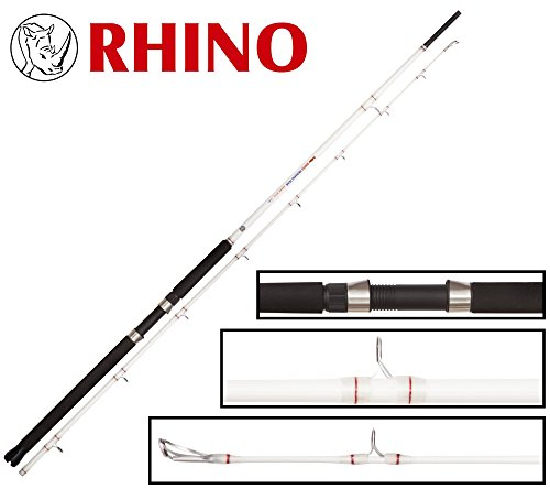Rhino Trolling Team Rigger Witch Bootsrute, Standart, One Size