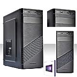 PC DESKTOP INTEL QUAD CORE CON LICENZA WINDOWS 10 PROFESSIOANAL 64 BIT ORIGINALE/HD 500GB SATA III /RAM 4GB DDR3 /ENTRATE HDMI-DVI-VGA/USB 3.0,2.0,AUDIO,VIDEO,LAN/RW-DVD LG/PC FISSO COMPLETO , UFFICIO,CASA,SCUOLA, SOCIAL NETWORK VULTECH 1696