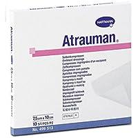 Hartmann Salbenkompresse, Atrauman, 5 x 5 cm, 10 Stück preisvergleich bei billige-tabletten.eu