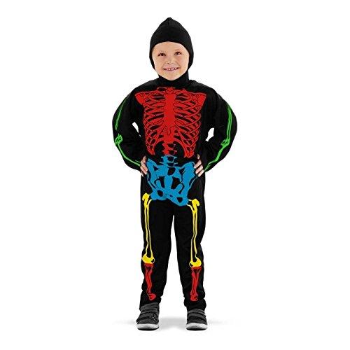 Imagen de folat 23705–esqueleto disfraz, multicolor