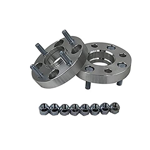 ALLOYWORKS Wheel Spacers 4 Studs 25mm 4x114.3 12x1.25 For Nissan