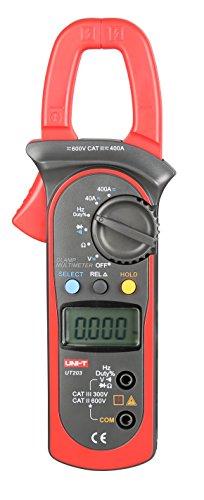 Preisvergleich Produktbild UNI-T UT203 Digitaler Hand-Zangenmultimeter / Multimeter / Voltmeter / Stromkreisprüfer (Gleichstrom/Wechselstrom)