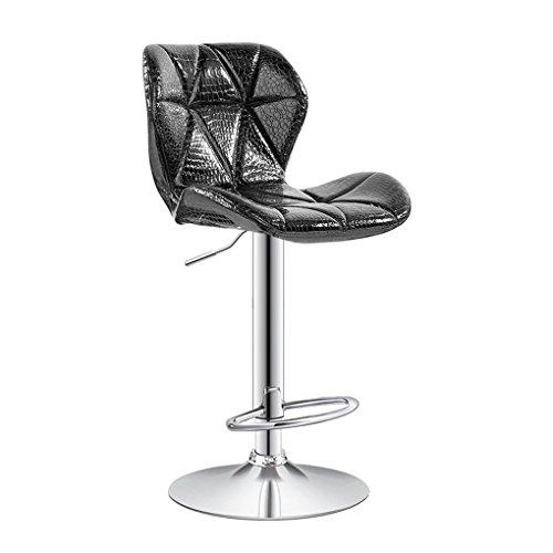 Wooden stool - home Barstuhl Sesselbahn Modern minimalistisch Empfangstheke Rückenlehne Barhocker...