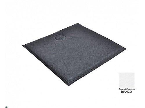 Coussin pour chaises magnétique carré en textilène blanc Emu