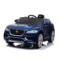 Jaguar F Pace Licensed 12V 7A Battery Powered Kids Electric Ride On Toy Car (MODEL LS818)