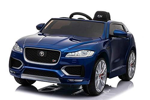 Jaguar F Pace Con licencia 12V 7A Con batería Paseo eléctrico para niños en coche de juguete (MODELO LS818) Azul metálico