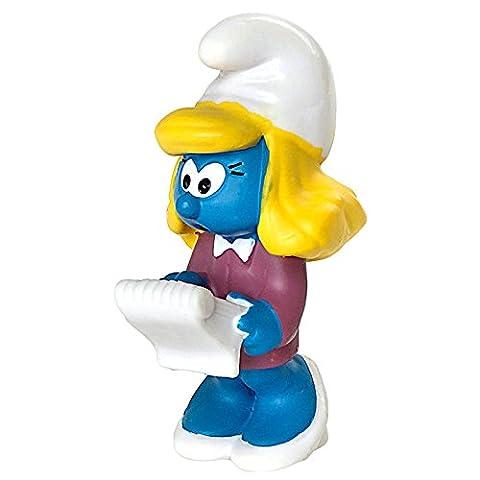 Schleich - 20770 - Figurine Bande Dessinée - Schtroumpfette Manager