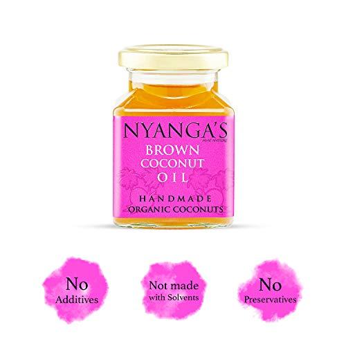 Nyanga (DE Marron Huile de Noix de Coco (200ml)