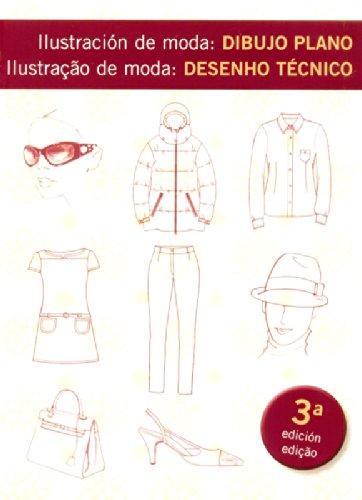 Ilustracion De Moda: Dibujo Plano