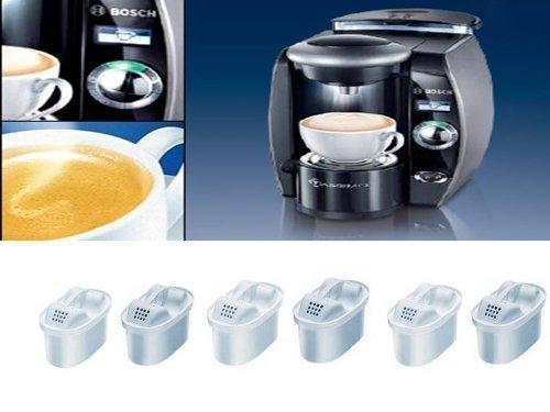Filterkartuschen unimax 6er Pack passend auch in Brita Maxtra Siemens,Bosch und Cloer