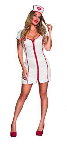 hsenenkostüm Sexy Nurse, Kostüme für Erwachsene (Arzt Halloween Kostüm Für Frauen)