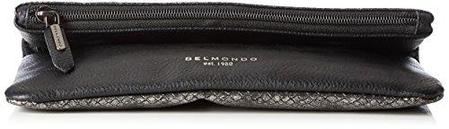 Belmondo 735032 01 Damen Clutches 24x14x3 cm (B x H x T) Silber (argento Combi)