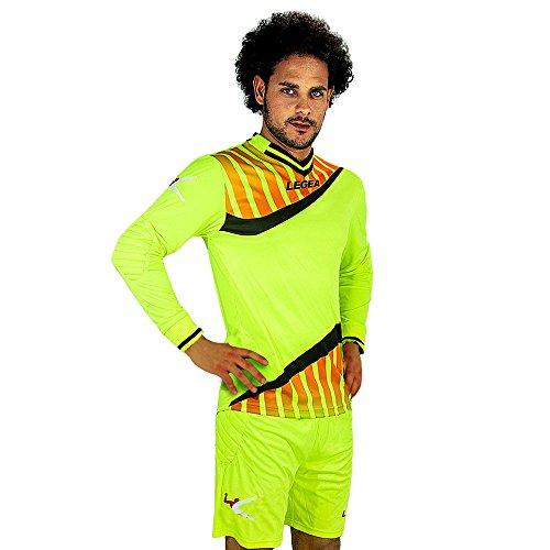 Legea Camp Nou-Maglietta e pantaloncini da portiere uomo