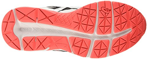 Asics Gel Contend 3 - Scarpe Running Donna Bianco (white/hot Coral/silver 0106)