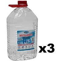 15 L Destilliertes Wasser in 3 Kanister zu je 5 Liter