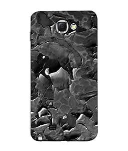 Snapdilla Designer Back Case Cover for Samsung Galaxy Note 2 :: Samsung Galaxy Note Ii N7100 (Texture Illustration Grey Pink Backcase Pouch Bricks)