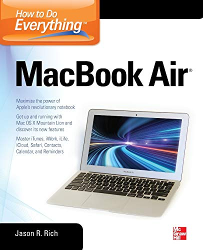 How to Do Everything MacBook Air Windows Media Port