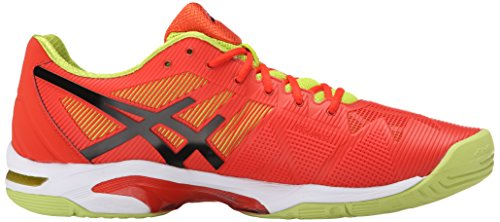 Tennis Gel Black Lime Shoe Mens Asics Orange Solution Speed 3 RFnBXqA