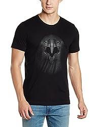 Arrow Mens T-Shirt (8907538751645_AJUTS3718_XX-Large_Black)