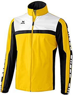 erima Regenjacke 5-Cubes - Chaqueta de ciclismo para hombre, color Amarillo, talla 2XL