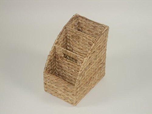 Cesta de almacenamiento de jacinto de agua de naturaleza