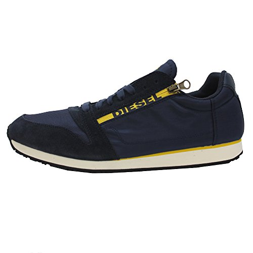 Diesel BLACK JAKE SLOCKER S Herren Sneakers Blau