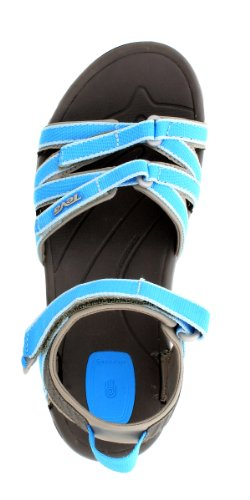 Teva, Tirra W Sandalo Donna, Sandali, Donna Blu (578 malibu blue)