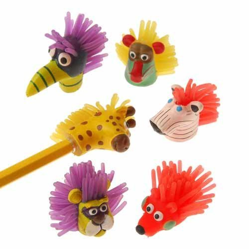 us-toy-wild-animal-pencil-toppers1-1-2-t-12-assorted-pack