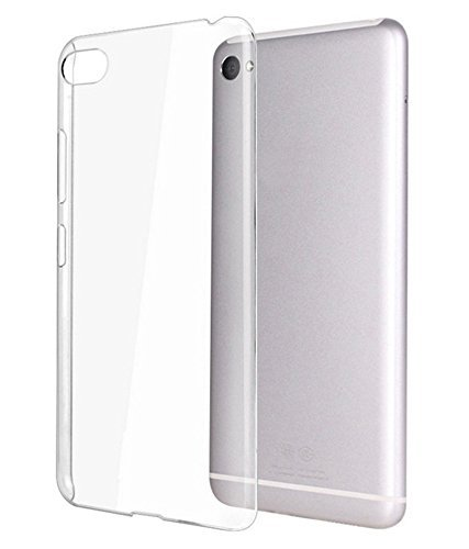 Dashmesh Shopping Ultra Thin Transparent Clear silicon jelly gel Case Back Cover for Panasonic P55 Novo