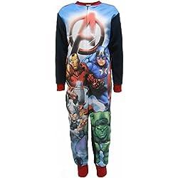 """Marvel Avengers """"A"""" Boys Fleece One Piece Sleepsuit 4-5 años (110cm)"""