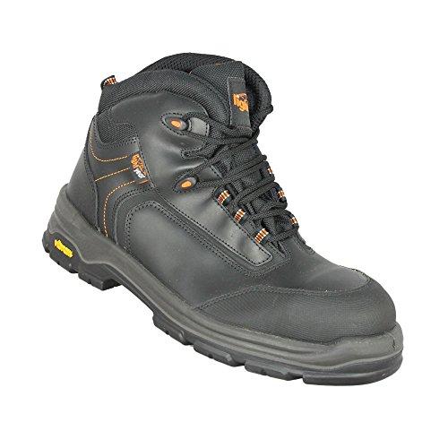 Light Year Chaussures de trekking S3HRO SRC Chaussures de sécurité Loisirs Chaussures Haut Noir Noir