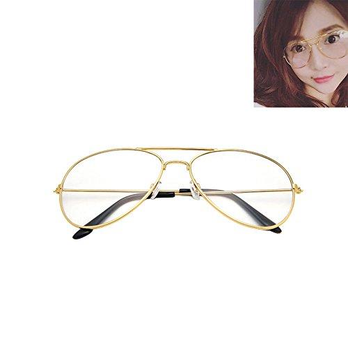 vintage-pilot-aviator-sunglasses-clear-lens-glasses-geek