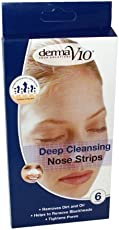 Derma V10 6 Deep Reinigung Nasen Poren Strips für Mitesser Entferner